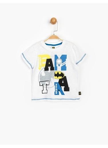 Batman Tişört Beyaz
